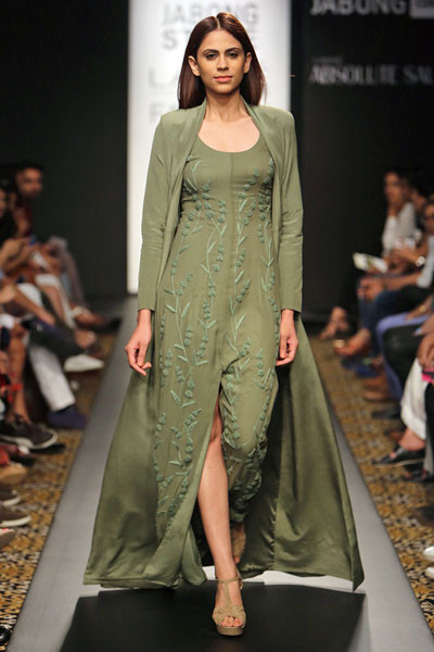 Prathoni Yengkhom and Jacky Laishram, Lakme Fashion Week 2014