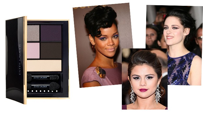 Envious Orchid estee lauder pure color envy eye shadow color palette caelebrity eyes make up rihanna selena gomez kristen stewart