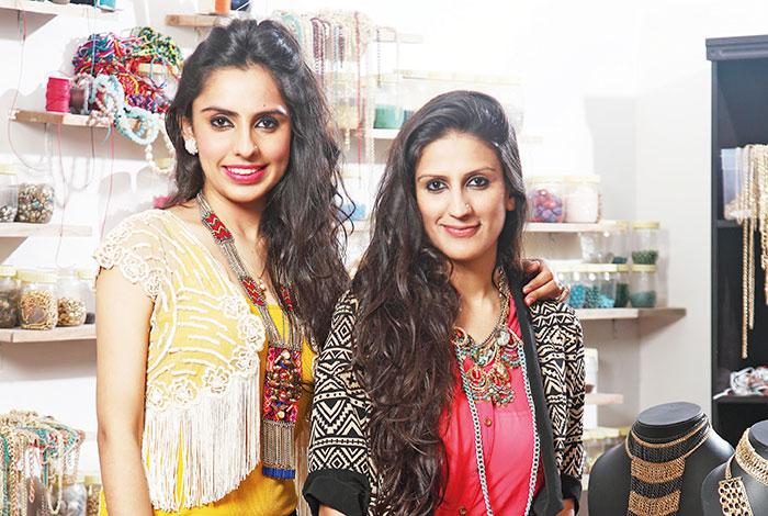 Kaabia and Sasha Grewal, Jewellery designers