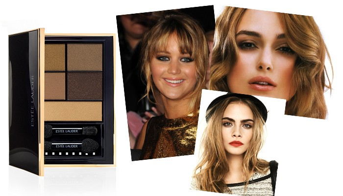 Rebel Metal estee lauder pure color envy eye shadow color palette caelebrity eyes make up jennifer lawrence kiera knightley cara delevingne