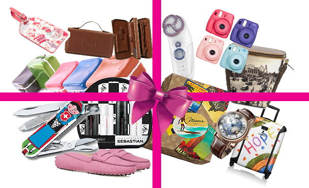Gifts for travellers globetrotters gifting christmas season festive luxury louis vuitton victorinox tumi tods sebastian proffesional samsonite sally hansen nappa dori fujifilm polaroid breguet watch epilator braun accessorize luggage tag