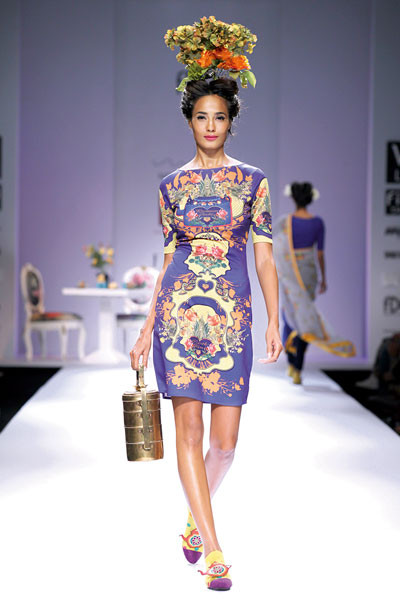 Nida Mahmood, Wills Lifestyle India Fashion Week Spring/Summer 2015