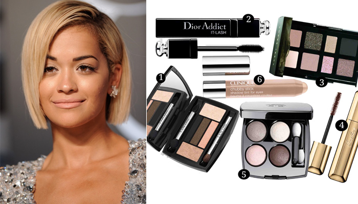 Nude eye make up featured