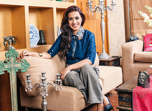 Ashvini Yardi, young entrepreneur, known particularly for the launch and triumph of the TV channel Colors, co-founder of Grazing Goat Pictures