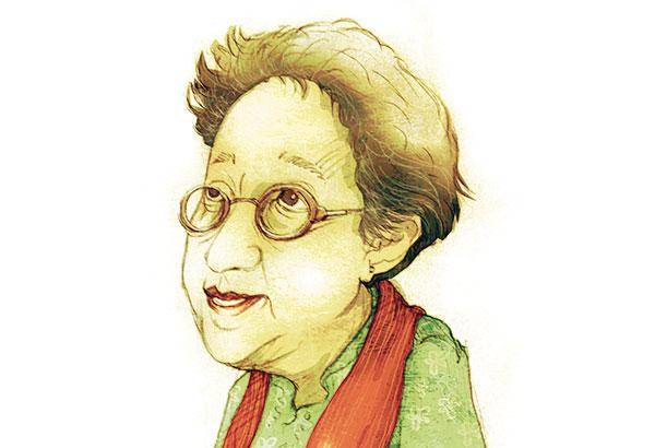 Manjula Padmanabhan, author, playwright and cartoonist