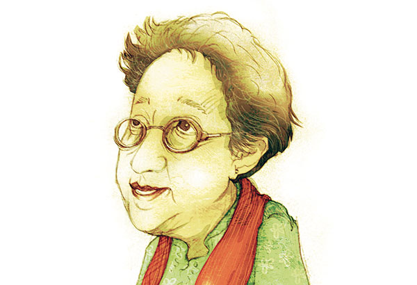 Manjula Padmanabhan, author, playwright and cartoonist