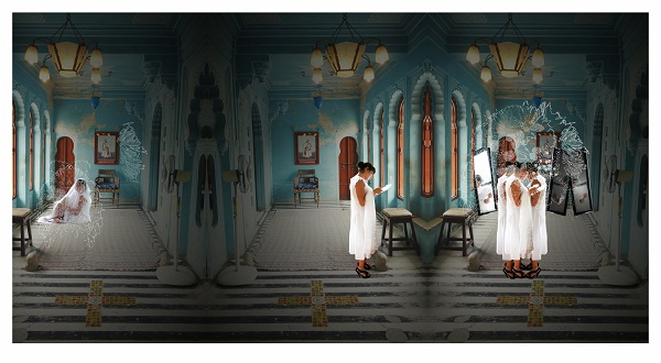 A space in between by Samanta Batra Mehta