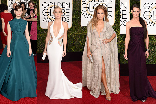 golden globe awards 2015 beverly hills hotel california jennifer lopez kate hudson katie holmes