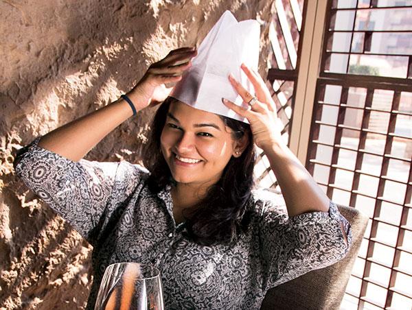 Dhwani Agarwal, chef from Masala Library by Jiggs Kalra, Mumbai