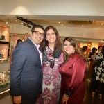Gautam and Krishaa Ghanasingh, Sangita Singh at the Ghasingh store in Bandra