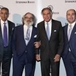 Jackie Manglani, Stefano Ricci, Ratan Tata, Filippo Ricci at the launch of Stefano Ricci, Mumbai