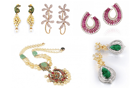 Jewellery picks of the season gehna jewellers notandas amrapali hazoorilal swarovski