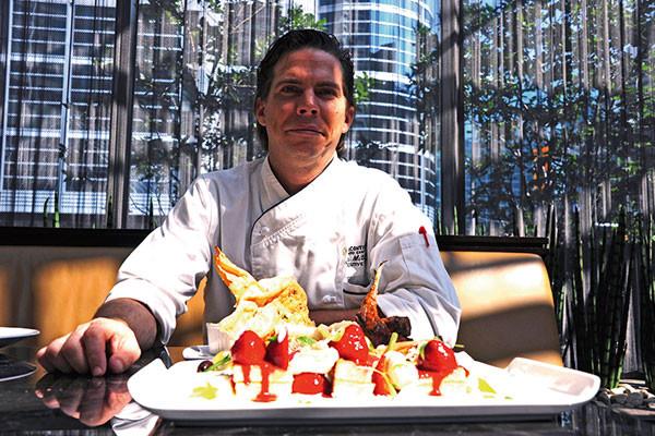 Toronto, Travel, Food Trail, Chef John Mitchell of Intercontinental Toronto Centre