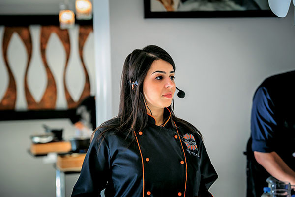 Dipna Anand, award-winning chef