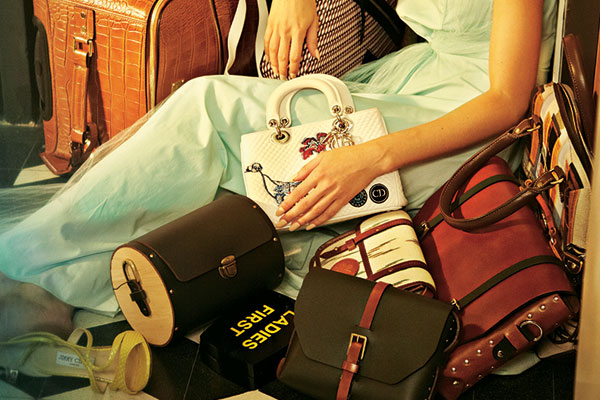 Vintage trunks and suitcases, Fashion