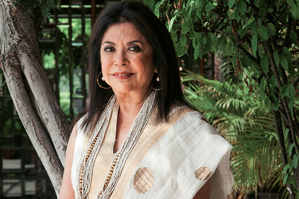 Ritu Kumar, Fashion Designer, LABEL, proud recipient of the Indira Gandhi Priyadarshini Award, the Padma Shri award in 2013, and the Chevalier des Arts et des Lettres by the French government