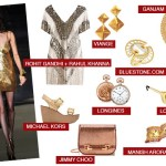 Midas gold jewellery fashion runway trend jimmy choo bags louis vuitton tom ford logines michael kors