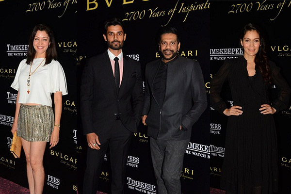Bulgari showcase in Mumbai rocky S timekeepers