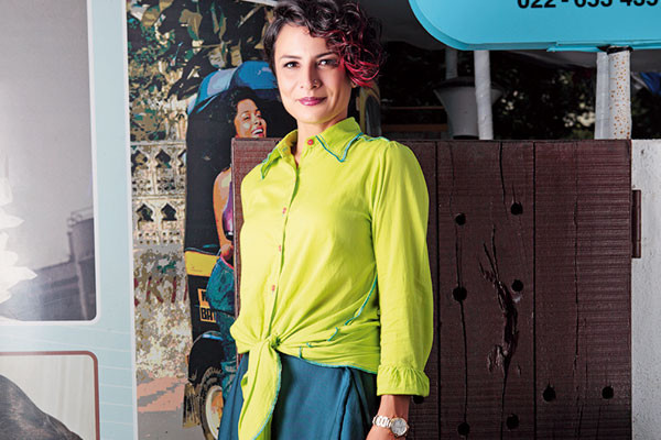 Adhuna Akhtar, Celebrity Hairstylist, Creative Director of BBlunt