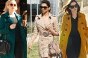 BURBERRY TRENCH COAT, heritage trench coat, celebrities, deepika padukone, anushka sharma