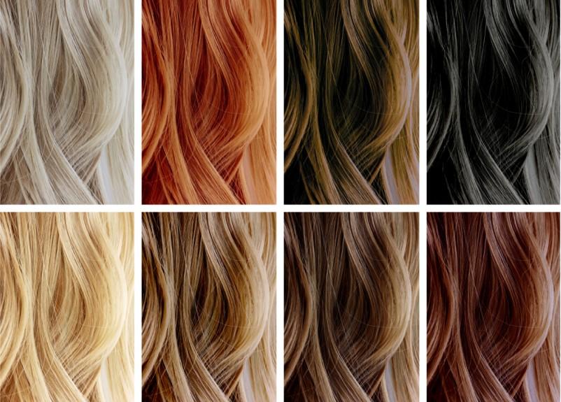 coloured hair, hair care, copyright colour