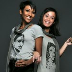 Sheikha Mattar-Jacob and Noelline Besson, Founder-Creators of the Masala Tee collection