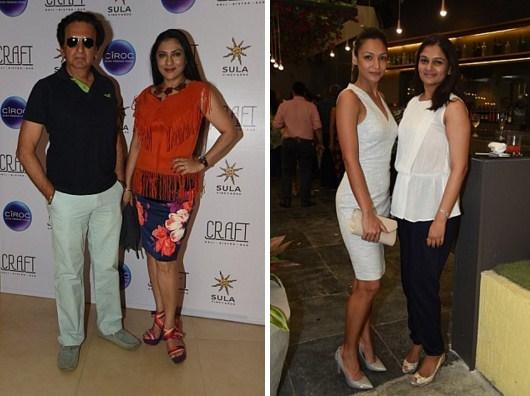 Kailash and Aarti Surendranath, Tejaswini Kolhapure, Shamita Singha