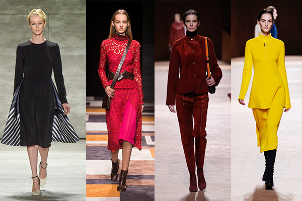 Fashion. Beauty, fall winter 2015, Marsala, Hot pink, yellow, black, make-up expert