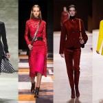 Fashion. Beauty, fall winter 2015, Marsala, Hot pink, yellow, black, make-up expert