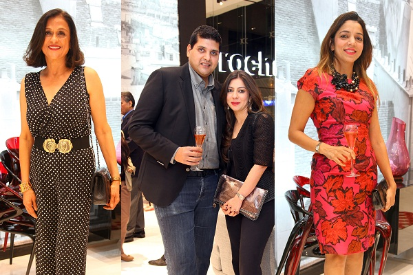 Guests at the launch of Roche Bobois Bengaluru
