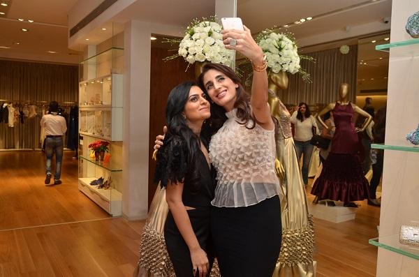 Shivani Awasty, Farah Khan Ali at Shivani Awasty's collection launch in Mumbai