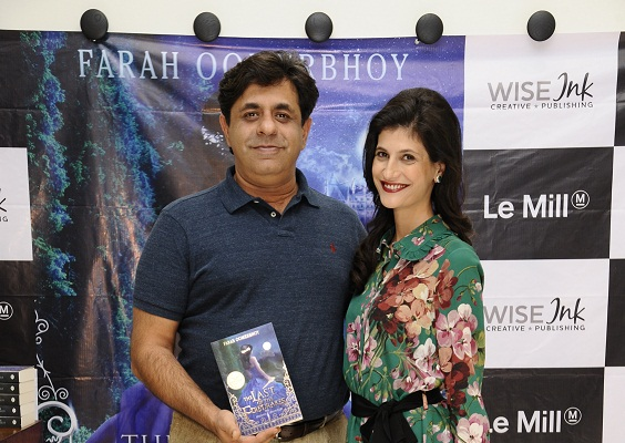 Launch of Farah Oomerbhoy's book