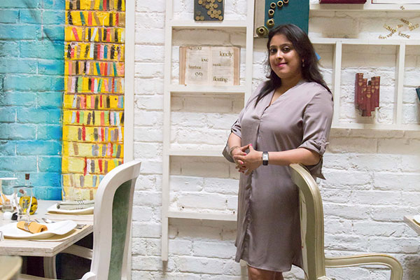 Megha Agarwal, The Corner Courtyard