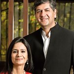 Seema and Vikram Chandra