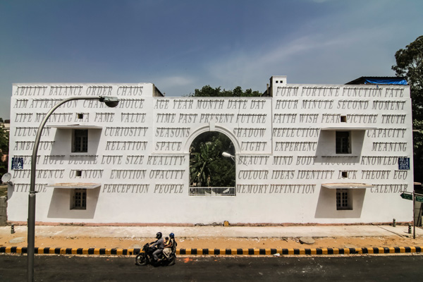 time, shadow, daku, installation, street art, foundation, lodhi colony, delhi, time, shadow