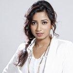 Shreya Ghoshal, Singer