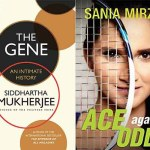 Books featured image, The Gene — An Intimate History, Ace Against Odds, Siddhartha Mukherjee, Sania Mirza, books