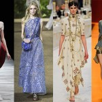 India inspired fashion, Chanel, Alexander McQueen, Hermes, Elie Saab