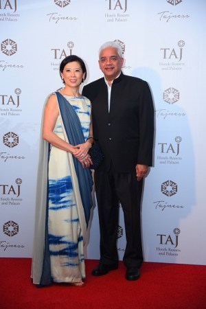 Mae and Rakesh Sarna