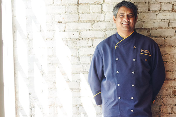Floyd Cardoz, Mumbai-born and New York-based chef, owner of The Bombay Canteen, Tabla and Paowalla