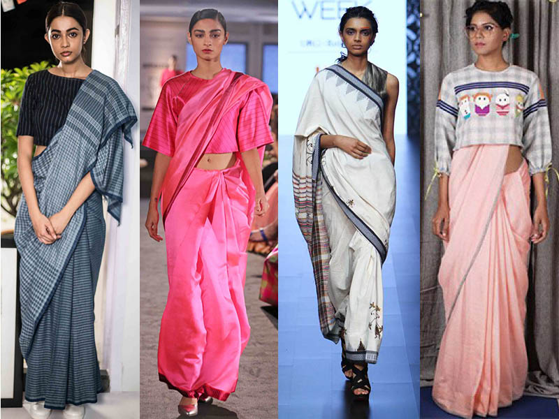 sari, Saree revival, casual wear, Indian, fashion