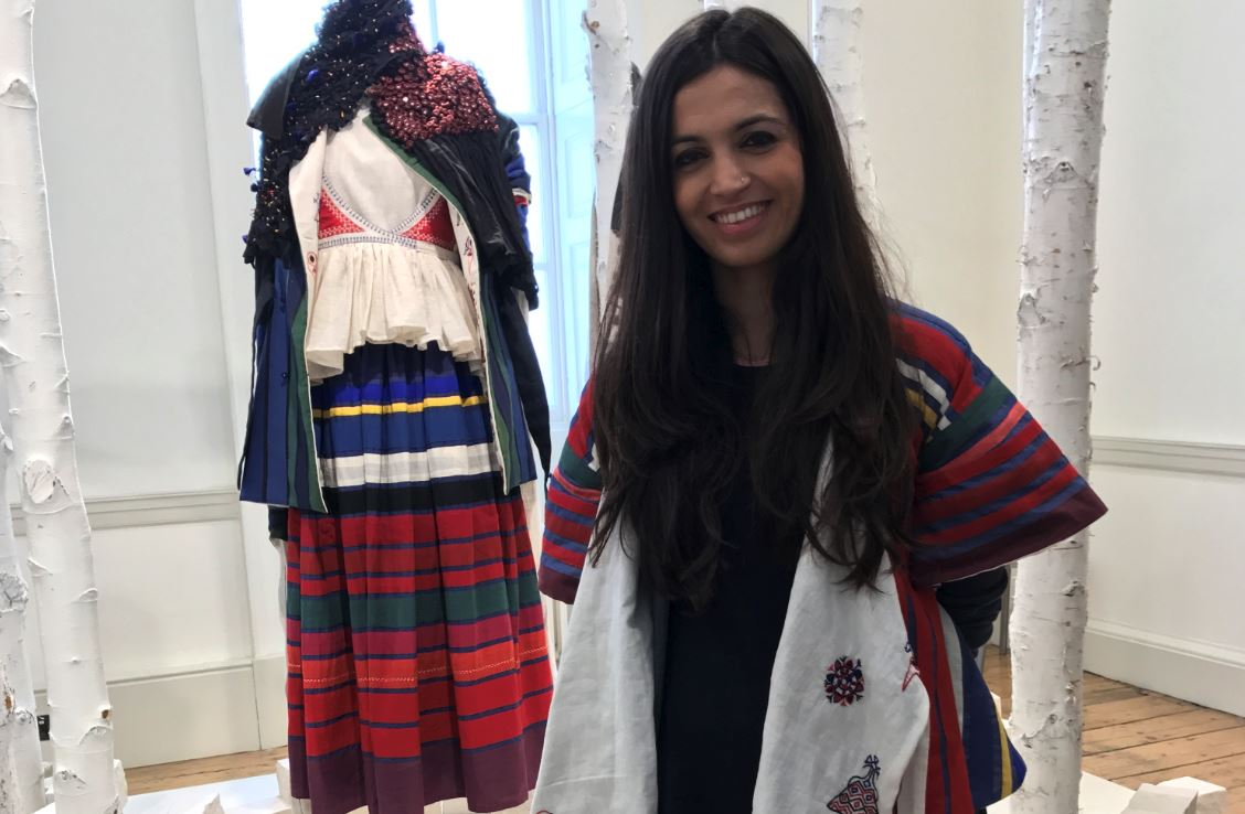 Featured image, Karishma Shahani, KaSha, London Fashion Week, London Fashion Week AW17, International Fashion Showcase, Designers, Fashion,