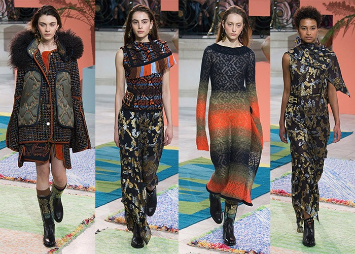 Peter Pilotto, London Fashion Week AW17, London Fashion Week, Best Shows, Fashion, Runway,