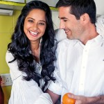 Chef couple Shilarna Vaze and Christophe Perrin of Gaia Gourmet