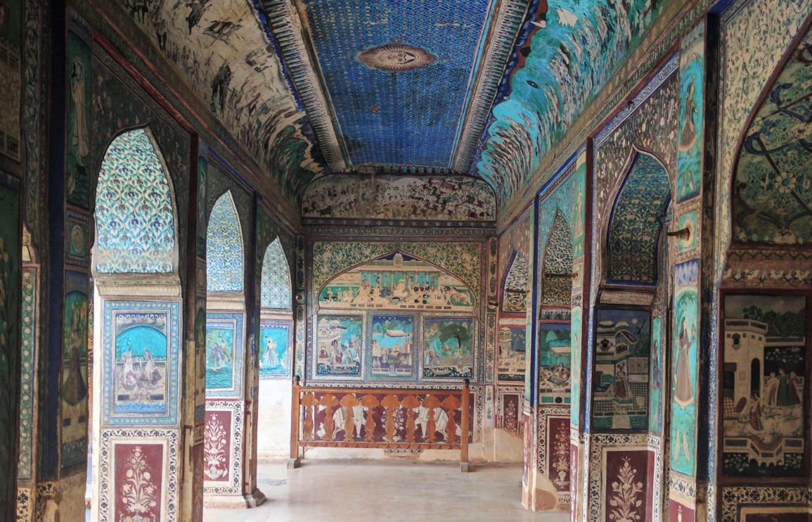 Chitrashala at the Bundi Palace, Bundi, Rajasthan