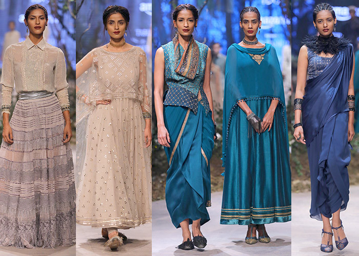 Tarun Tahiliani, Amazon India Fashion Week Autumn Winter 2017, Amazon India Fashion Week, AIFW, Fashion, Designer,