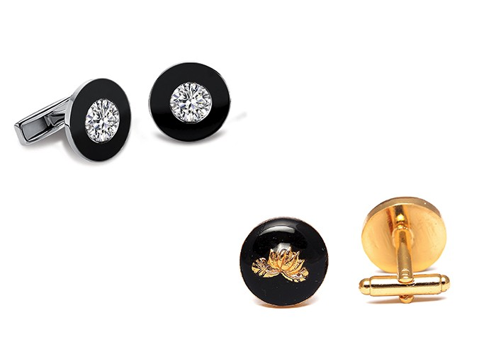 Cuff links, Forevermark, Herringbone & Sui, Father's Day, Gifting,
