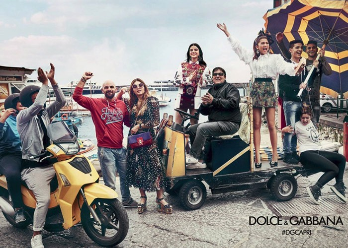 Dolce & Gabbana, Spring Summer 2017 campaigns, Fashion, Travel,