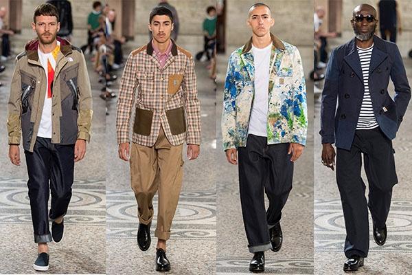 Junya Watanabe, Menswear, Trend Report, Fashion, Style, Spring Summer 2018, Trends