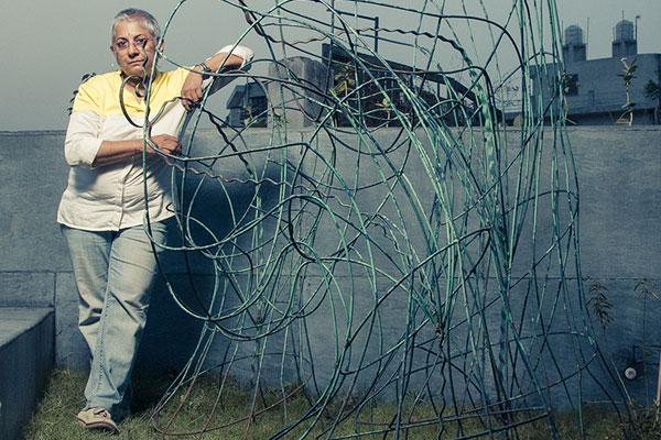 Anita Dube, Indian contemporary artist, 2018 Kochi-Muziris Biennale